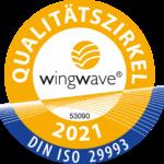 wingwave Siegel 2021 Annette Cornels Angstfrei Leben Coach